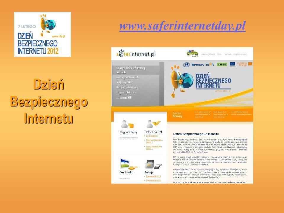 Dzień Bezpiecznego Internetu www.saferinternetday.pl