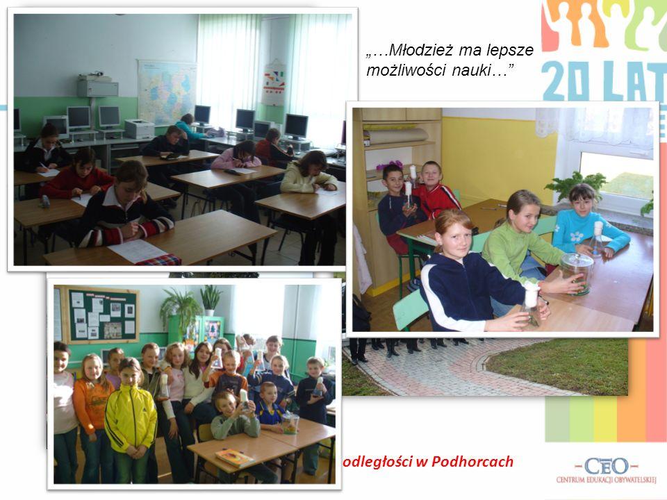 Gminne Obchody Święta Odzyskania Niepodległości w Podhorcach …Młodzież ma lepsze możliwości nauki…