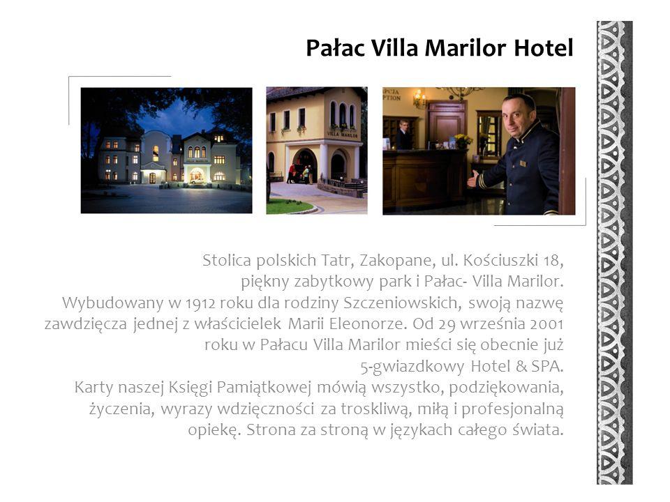 Pałac Villa Marilor Hotel Stolica polskich Tatr, Zakopane, ul.