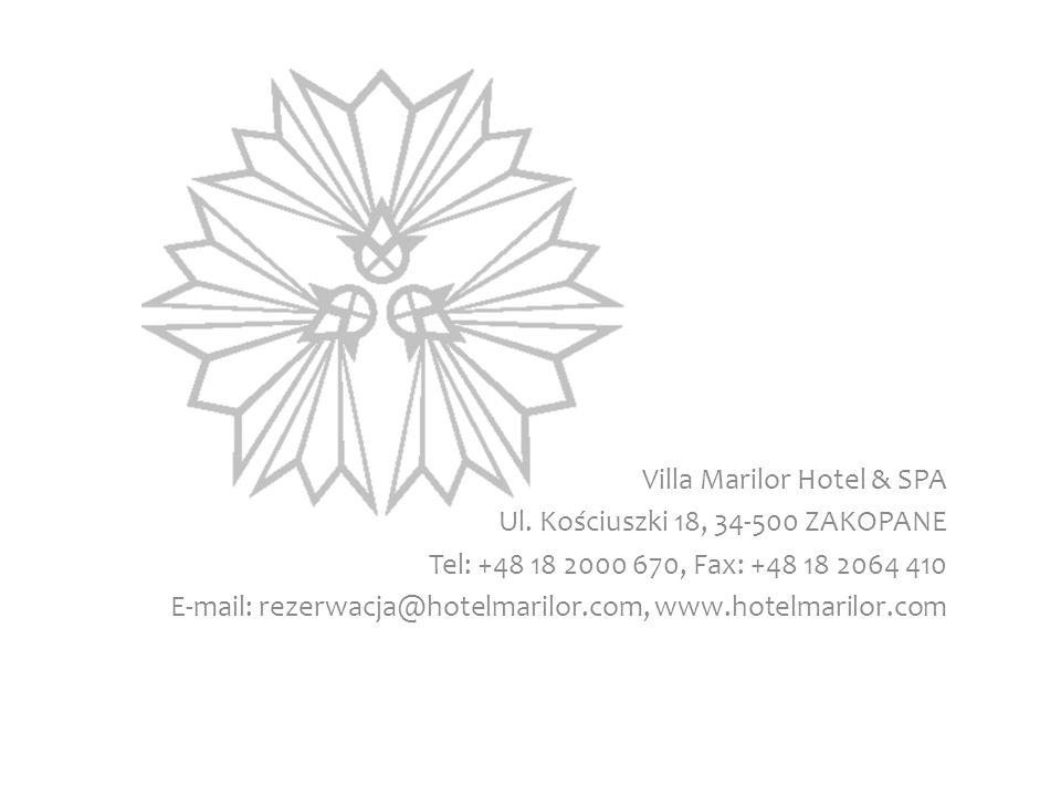 Villa Marilor Hotel & SPA Ul.