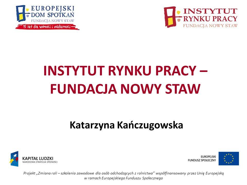 Projekt Zmiana roli – szkolenia zawodowe dla osób odchodzących z rolnictwa współfinansowany przez Unię Europejską w ramach Europejskiego Funduszu Społecznego Rozwijanie idei ekonomii społecznej W stronę polskiego modelu gospodarki społecznej – budujemy nowy Lisków Główne działania: - utworzenie Gminnego Centrum Aktywizacji Społecznej i Zawodowej - szkolenia i praktyki dla kobiet – aktualizacja i zdobywanie nowych doświadczeń zawodowych - utworzenie przedsiębiorstwa społecznego przy Europejskim Domu Spotkań w Nasutowie