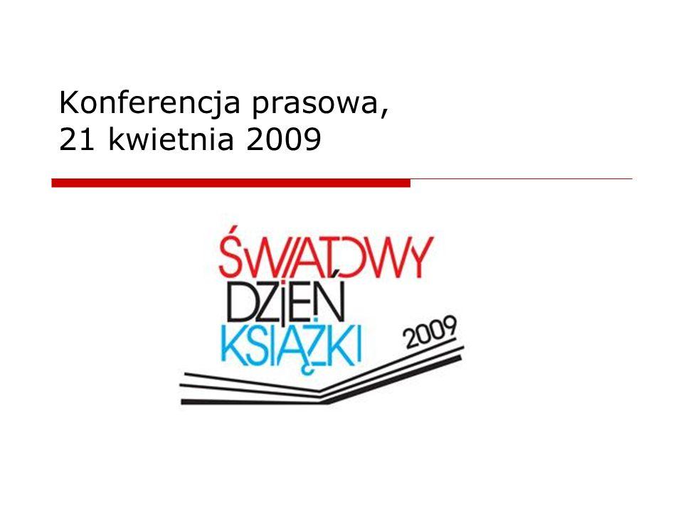 Agenda Organizatorzy – Komitet Porozumiewawczy Terminarz obchodów ŚDK 2009 www.swiatowydzienksiazki.pl Wyniki akcji promujących czytelnictwo Wyniki badań nad stanem czytelnictwa Europejska Nagroda Literacka