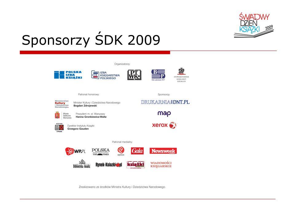 Sponsorzy ŚDK 2009