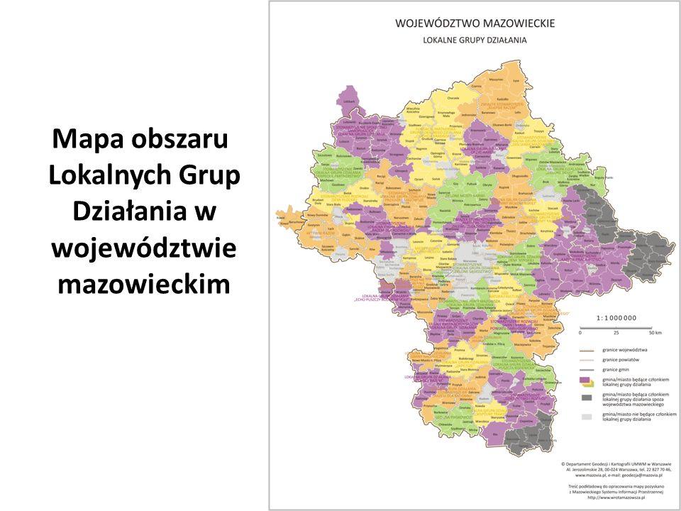 Liczba mieszkańców objętych działaniami LEADER Wzrost 7-krotny 6 LEADER na Mazowszu wczoraj i dziś