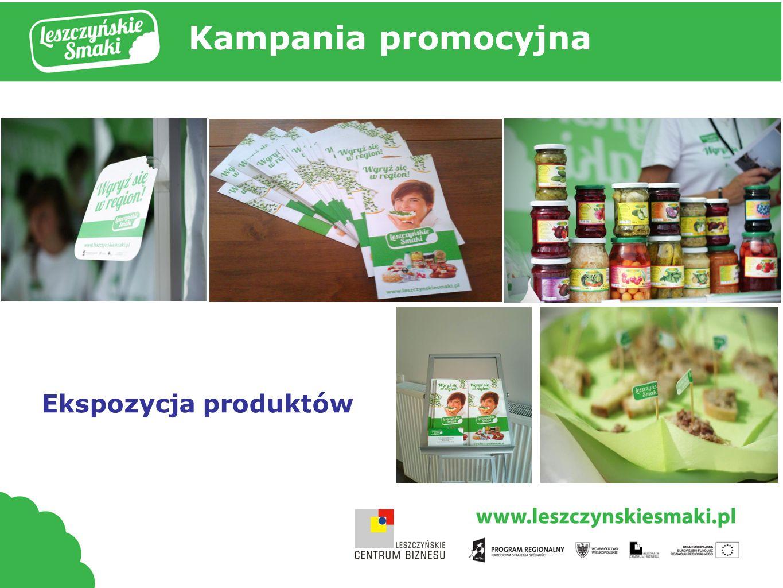 Kampania promocyjna Ekspozycja produktów