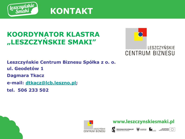 Tytuł prezentacji Leszczyńskie Centrum Biznesu Spółka z o.