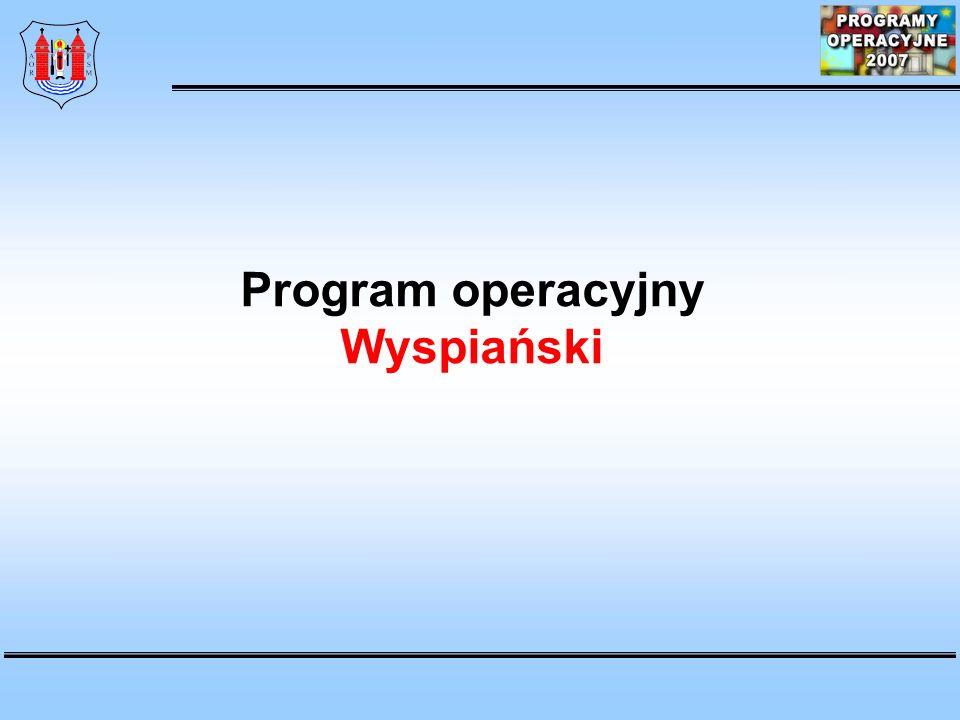 Program operacyjny Wyspiański
