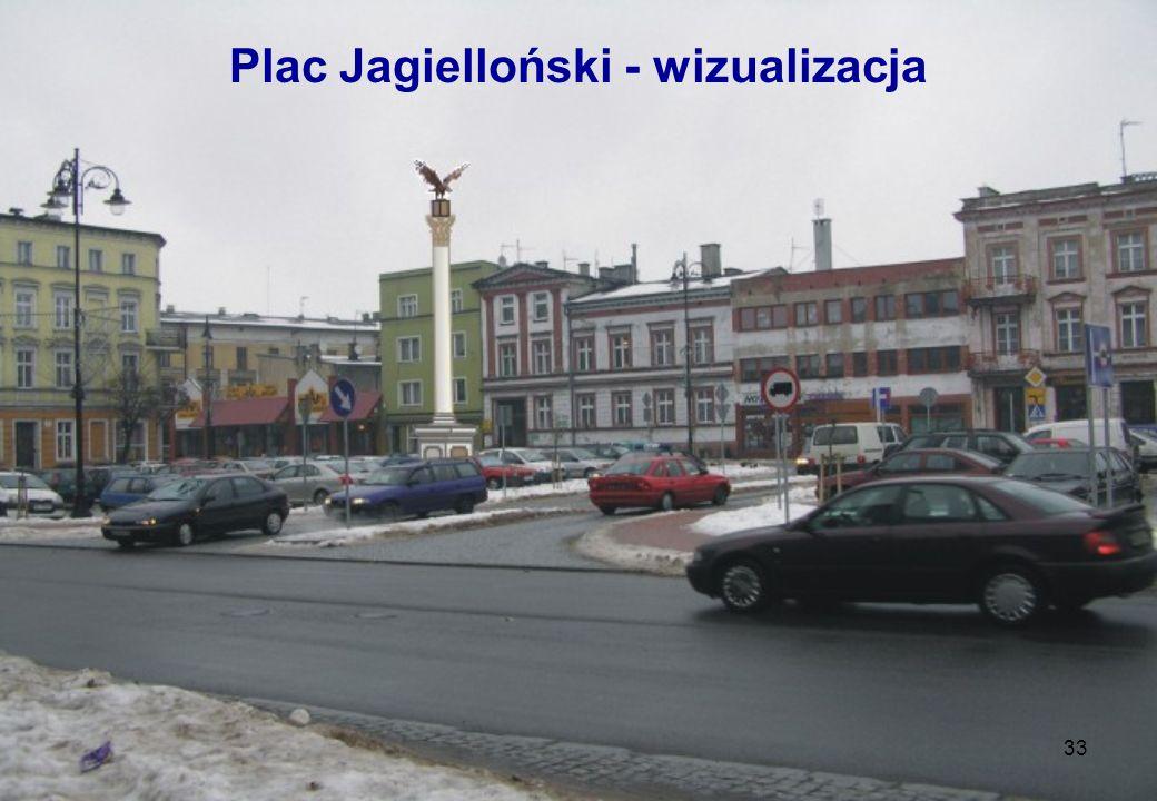 33 Plac Jagielloński - wizualizacja