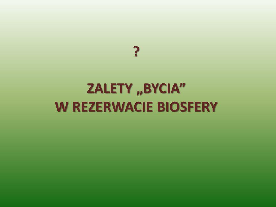 ? ZALETY BYCIA W REZERWACIE BIOSFERY