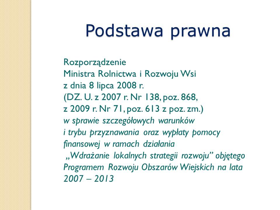 Rozporządzenie Ministra Rolnictwa i Rozwoju Wsi z dnia 8 lipca 2008 r. (DZ. U. z 2007 r. Nr 138, poz. 868, z 2009 r. Nr 71, poz. 613 z poz. zm.) w spr