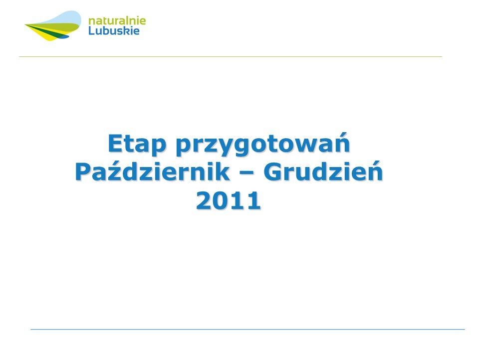 Październik 2011 Ogłoszenie roku 2012 – Rokiem Turystyki Militarnej.