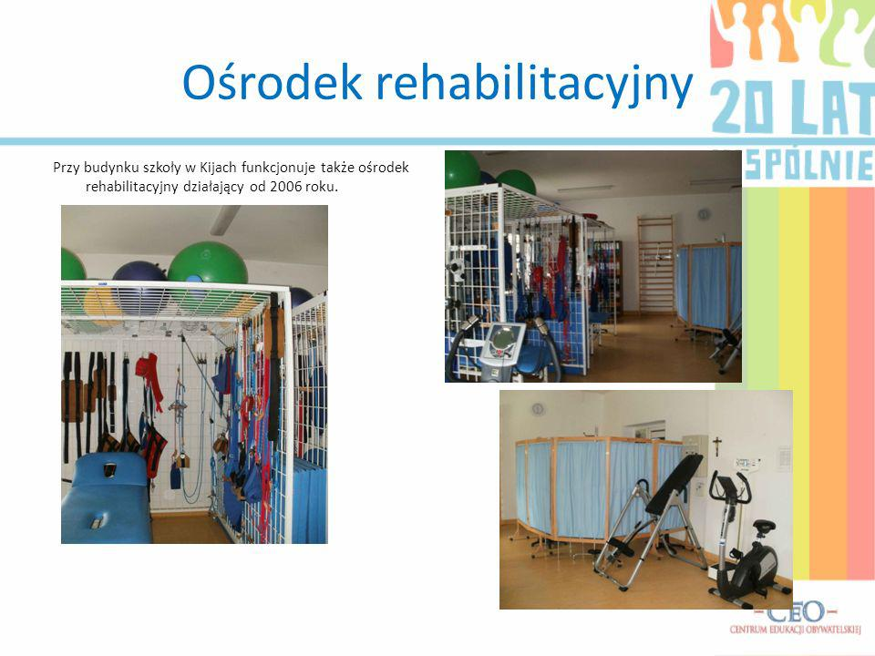 Ośrodek rehabilitacyjny Przy budynku szkoły w Kijach funkcjonuje także ośrodek rehabilitacyjny działający od 2006 roku.