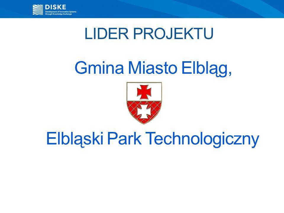 LIDER PROJEKTU Gmina Miasto Elbląg, Elbląski Park Technologiczny