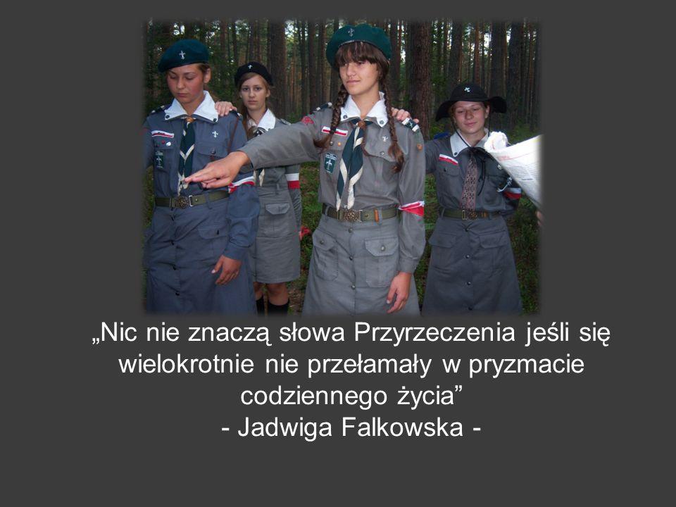 Nic nie znaczą słowa Przyrzeczenia jeśli się wielokrotnie nie przełamały w pryzmacie codziennego życia - Jadwiga Falkowska -
