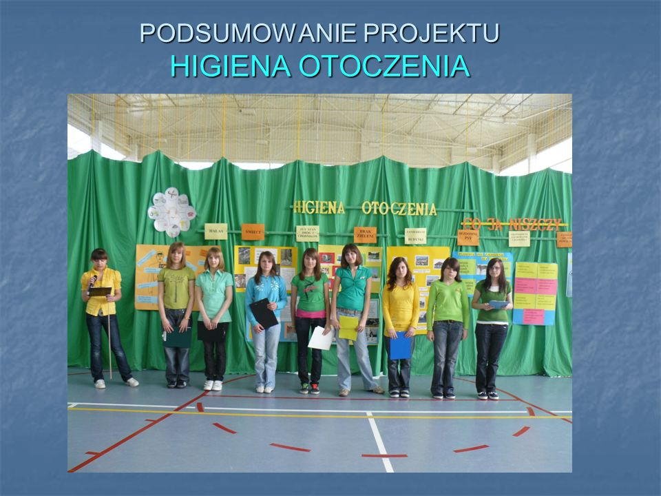 Podsumowanie roku 2009/10 Gazetka ścienna zwycięskiej klasy.Spotkanie z panem Jackiem Zielińskim i panią dietetyk
