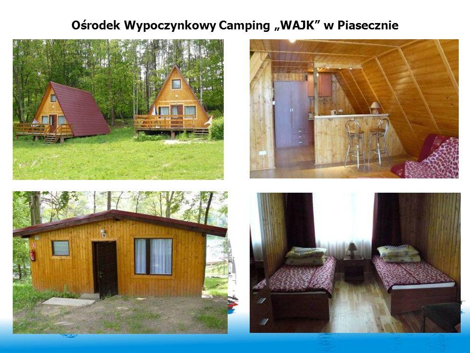 Ośrodek Wypoczynkowy Camping WAJK w Piasecznie