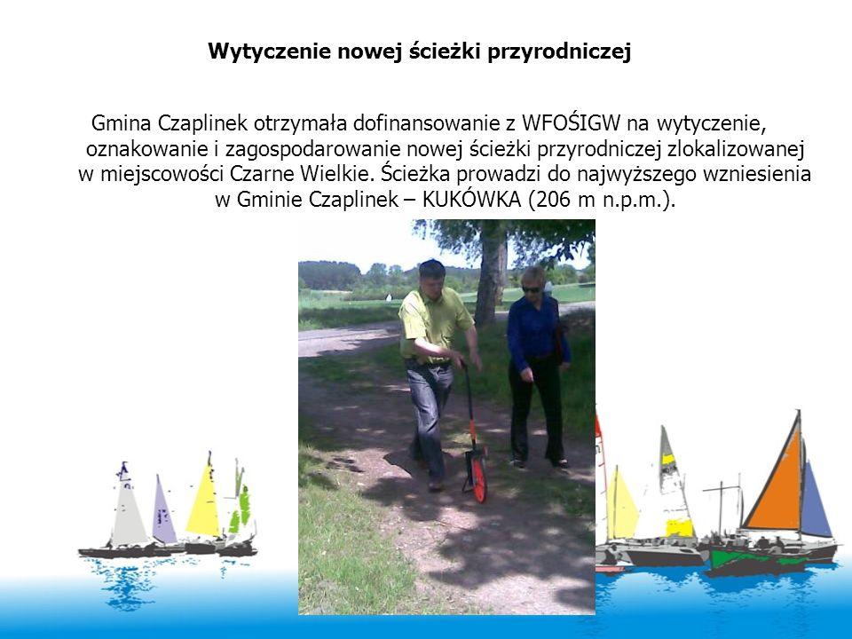 Wytyczenie nowej ścieżki przyrodniczej Gmina Czaplinek otrzymała dofinansowanie z WFOŚIGW na wytyczenie, oznakowanie i zagospodarowanie nowej ścieżki