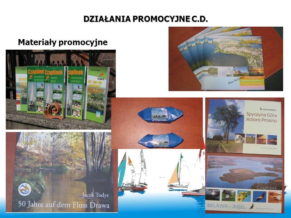 DZIAŁANIA PROMOCYJNE C.D. Materiały promocyjne