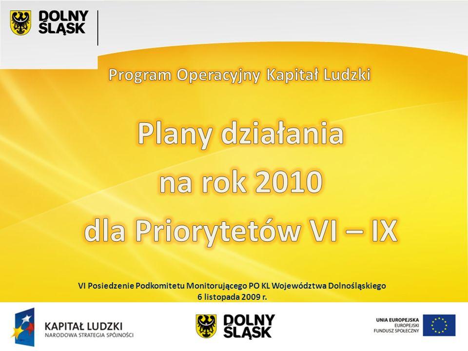 Wydział EFS Wrocław, sierpień 200 Projekty systemowe w IX Priorytecie BeneficjentTytuł projektuOkres realizacjiWartość projektu UMWD WEIN Dolnośląska szkoła liderem projakościowych zmian w polskim systemie edukacji 11.2009 – 09.