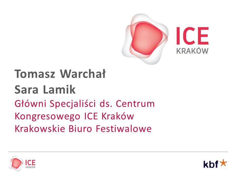 Wielkie festiwale i wydarzenia kulturalne Platforma współpracy i animacja dzielnic Kulturalna promocja Krakowa Aktywizacja i edukacja kulturalna dzieci i osób starszych Wspieranie rozwoju turystyki Rozwój Krakowa jako miasta literatury Promocja Krakowa jako miasta filmowego Rozwój przemysłu spotkań