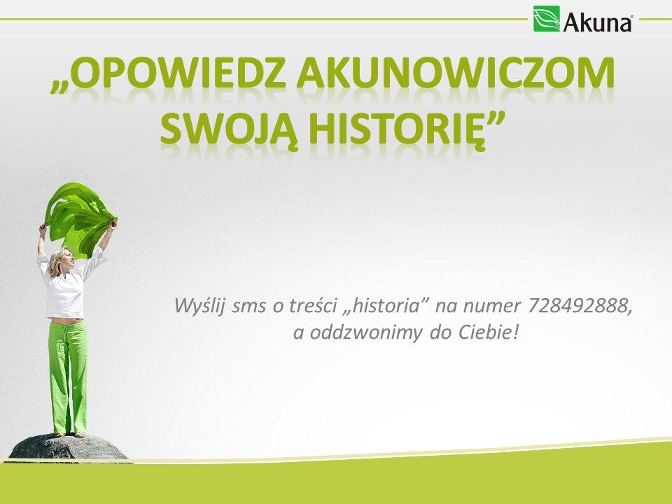 Wyślij sms o treści historia na numer 728492888, a oddzwonimy do Ciebie!