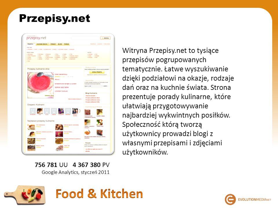 Przepisy.net Witryna Przepisy.net to tysiące przepisów pogrupowanych tematycznie. Łatwe wyszukiwanie dzięki podziałowi na okazje, rodzaje dań oraz na