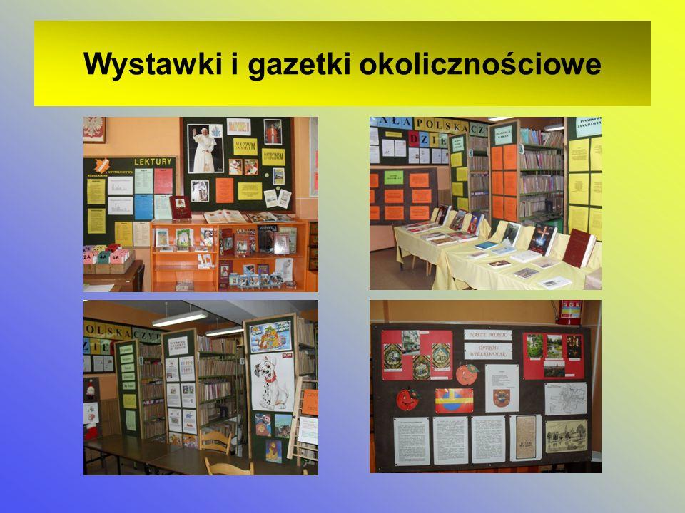 Wystawki i gazetki okolicznościowe