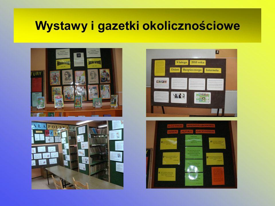 Wystawy i gazetki okolicznościowe