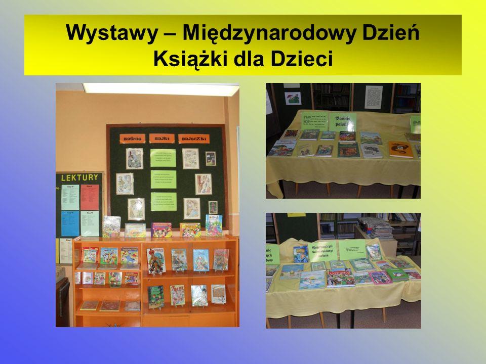 Wystawy Wystawy – Międzynarodowy Dzień Książki dla Dzieci
