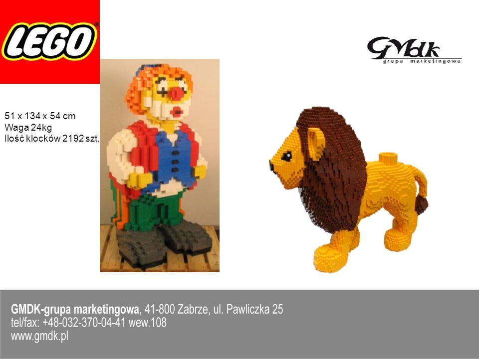 2 x Gabloty 100 x 80 x 140 cm, seria LEGO City i Star Wars