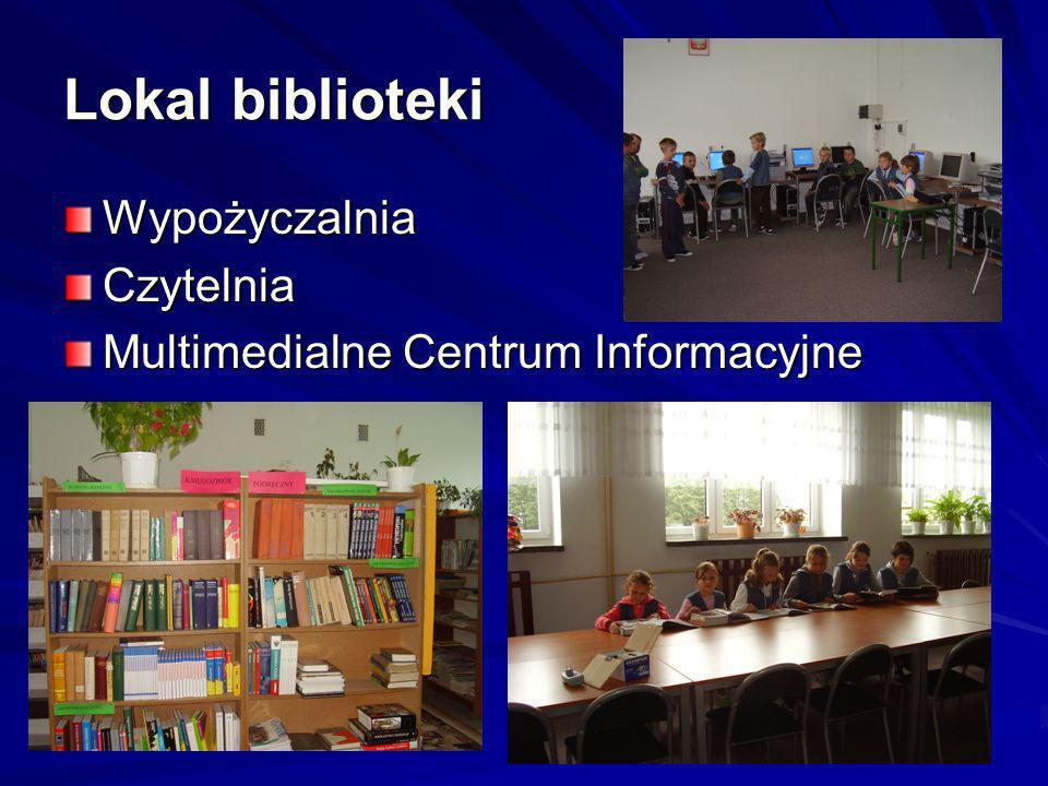 Lokal biblioteki WypożyczalniaCzytelnia Multimedialne Centrum Informacyjne