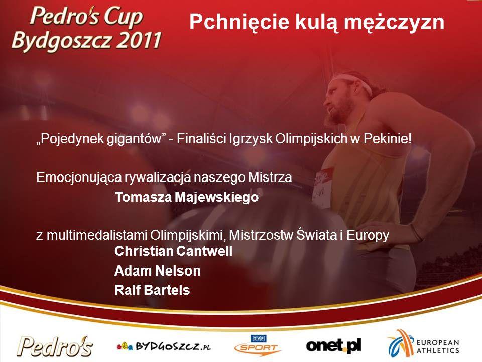 Pojedynek gigantów - Finaliści Igrzysk Olimpijskich w Pekinie! Emocjonująca rywalizacja naszego Mistrza Tomasza Majewskiego z multimedalistami Olimpij
