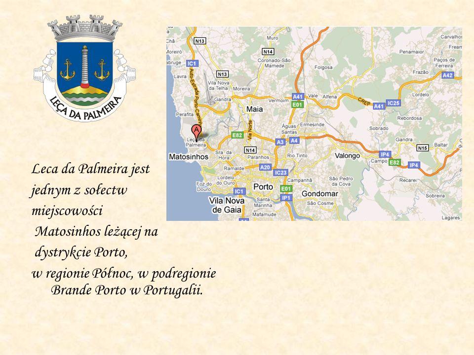Leca da Palmeira jest jednym z sołectw miejscowości Matosinhos leżącej na dystrykcie Porto, w regionie Północ, w podregionie Brande Porto w Portugalii.