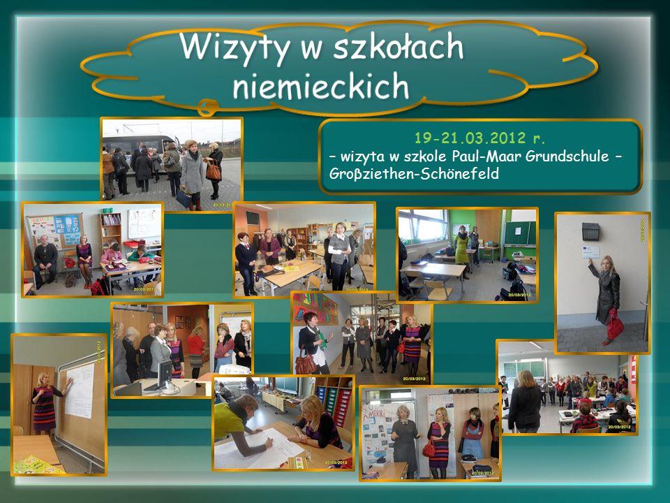 19-21.03.2012 r. – wizyta w szkole Paul-Maar Grundschule – Groβziethen-Schönefeld