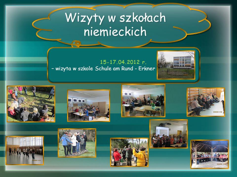 15-17.04.2012 r. – wizyta w szkole Schule am Rund - Erkner
