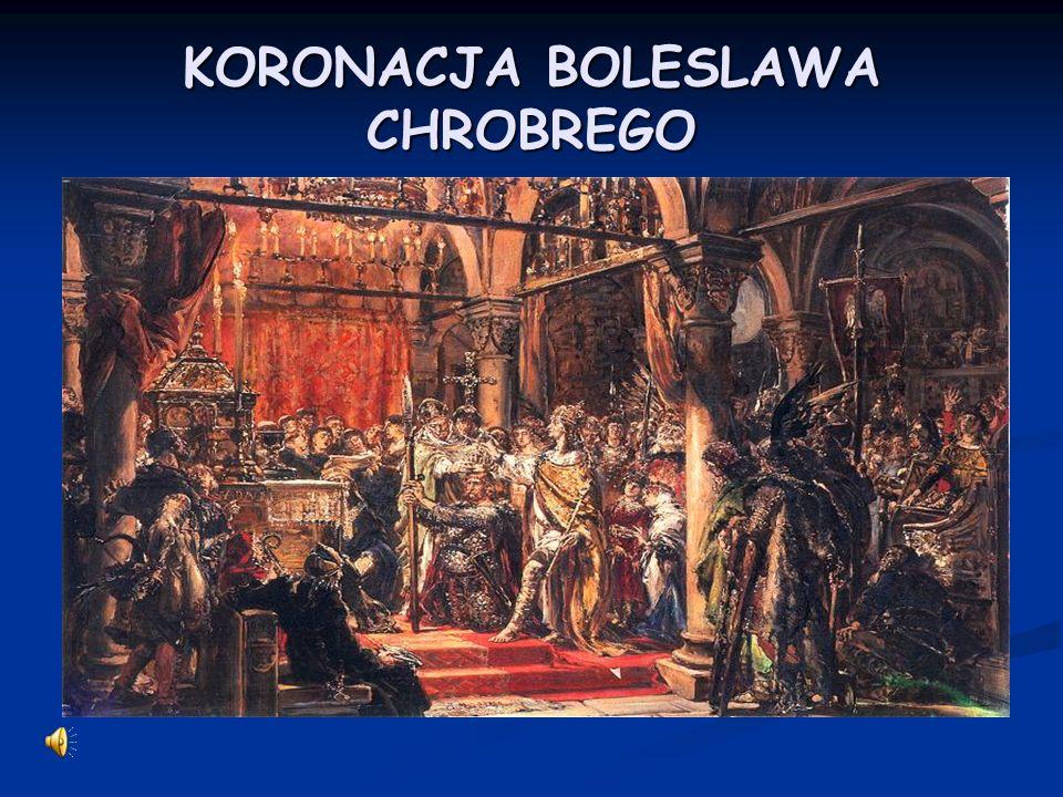 Boleslaw Chrobry zostal Boleslaw Chrobry zostal koronowany na krola w roku ……………………