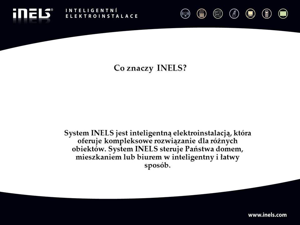 Co znaczy INELS? System INELS jest inteligentną elektroinstalacją, która oferuje kompleksowe rozwiązanie dla różnych obiektów. System INELS steruje Pa