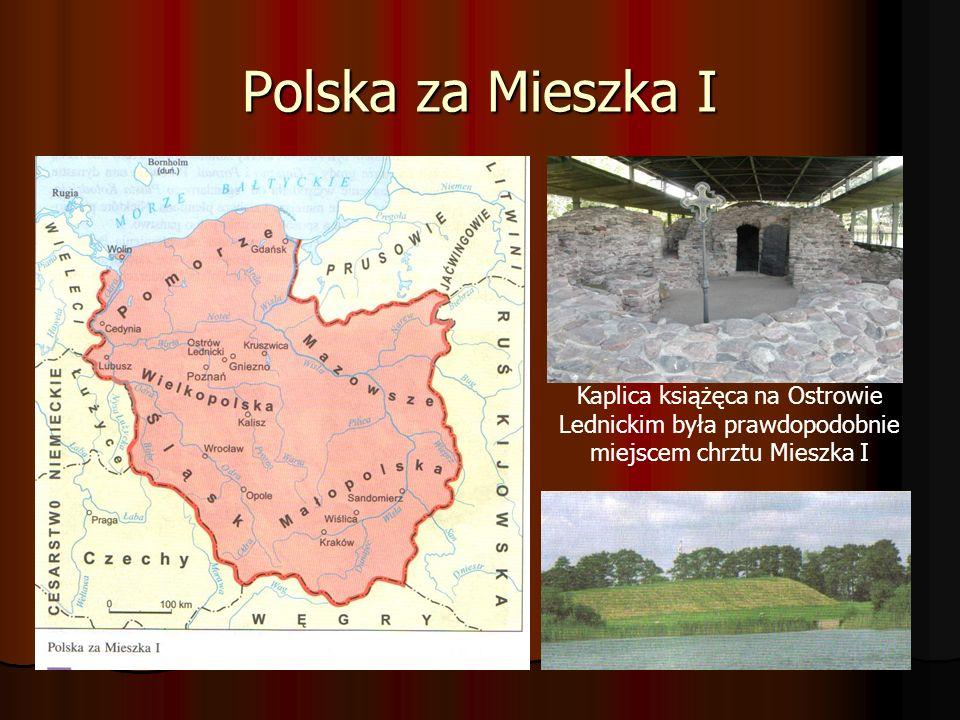 Bolesław Chrobry (967-1025) Syn Mieszka I.Syn Mieszka I.