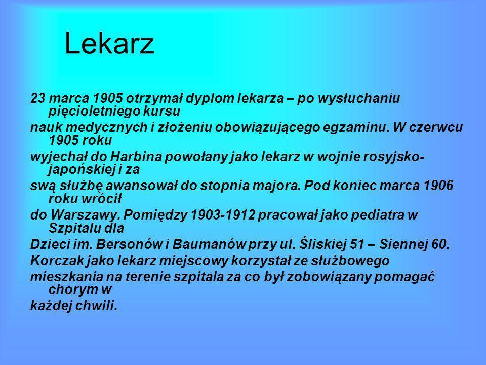Działalność literacka i radiowa Pomiędzy 1904 -1905 był felietonistą w czasopiśmie Głos.