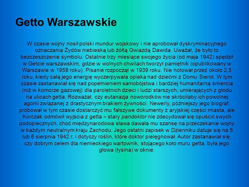Korczakiana Istnieje wiele pomników, organizacji poświęconych dokumentacji życia i myśli pedagogicznej Janusza Korczaka oraz szkół jego imienia Opracowała:kl.IIIG