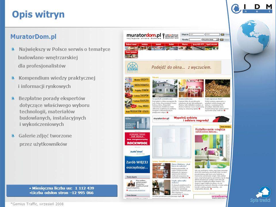 MuratorDom.pl Największy w Polsce serwis o tematyce budowlano-wnętrzarskiej dla profesjonalistów Kompendium wiedzy praktycznej i informacji rynkowych
