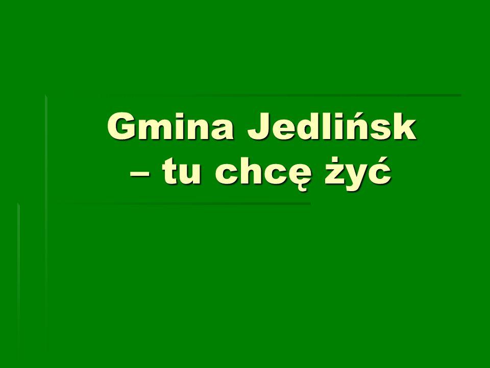 Gmina Jedlińsk – tu chcę żyć
