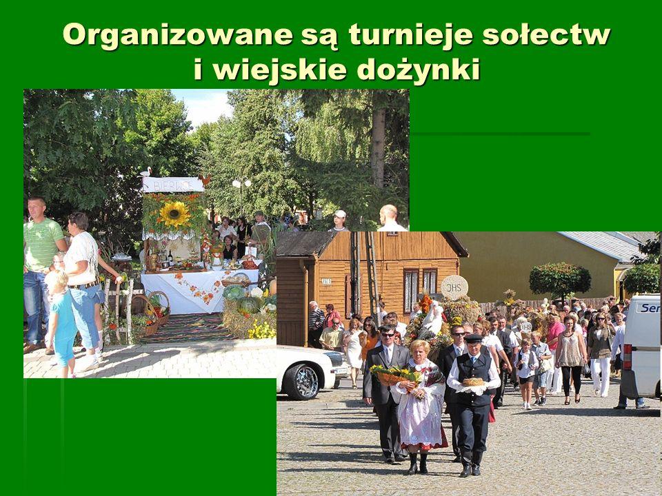 Organizowane są turnieje sołectw i wiejskie dożynki