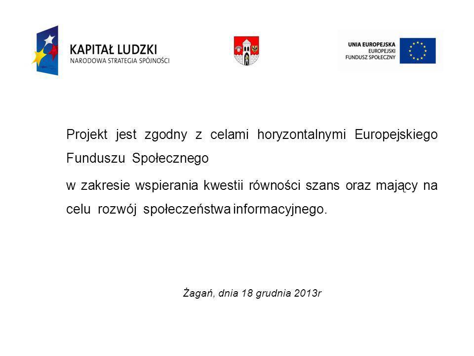 Trening zakresie nabywania umiejętności kulinarnych Żagań, dnia 18 grudnia 2013r.