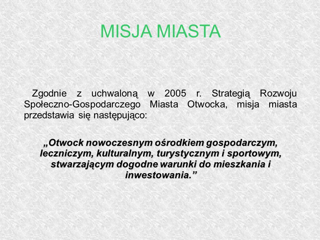 Zgodnie z uchwaloną w 2005 r. Strategią Rozwoju Społeczno-Gospodarczego Miasta Otwocka, misja miasta przedstawia się następująco: Otwock nowoczesnym o