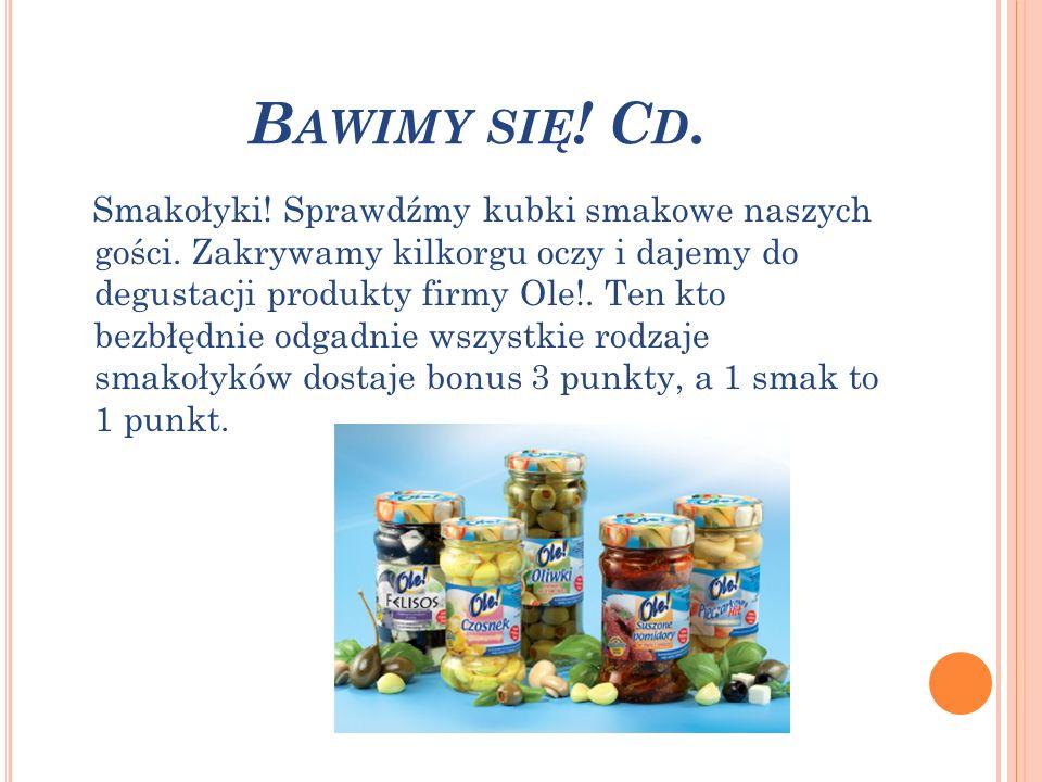 B AWIMY SIĘ .C D. Warzywno-owocowe kalambury.