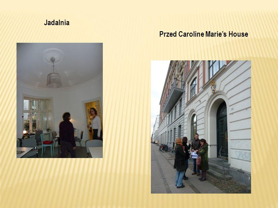 Jadalnia Przed Caroline Maries House