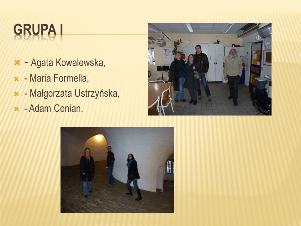 - Agata Kowalewska, - Maria Formella, - Małgorzata Ustrzyńska, - Adam Cenian.