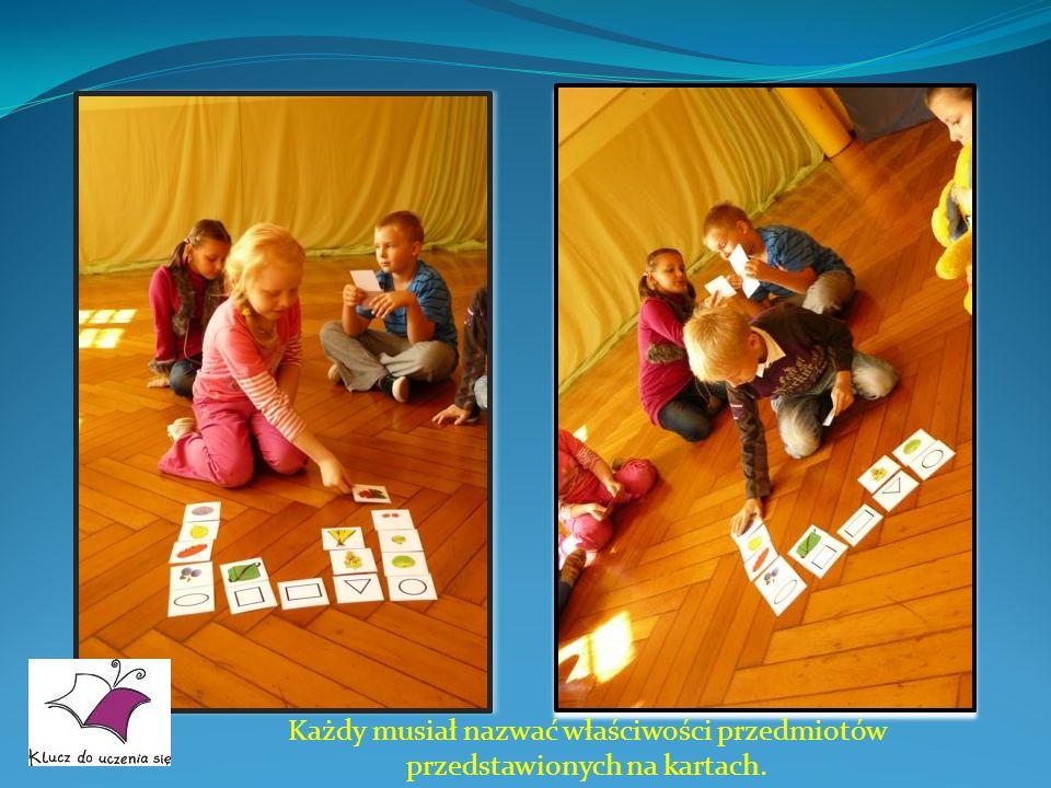 Dzieci wspaniale się przy tym bawiły.