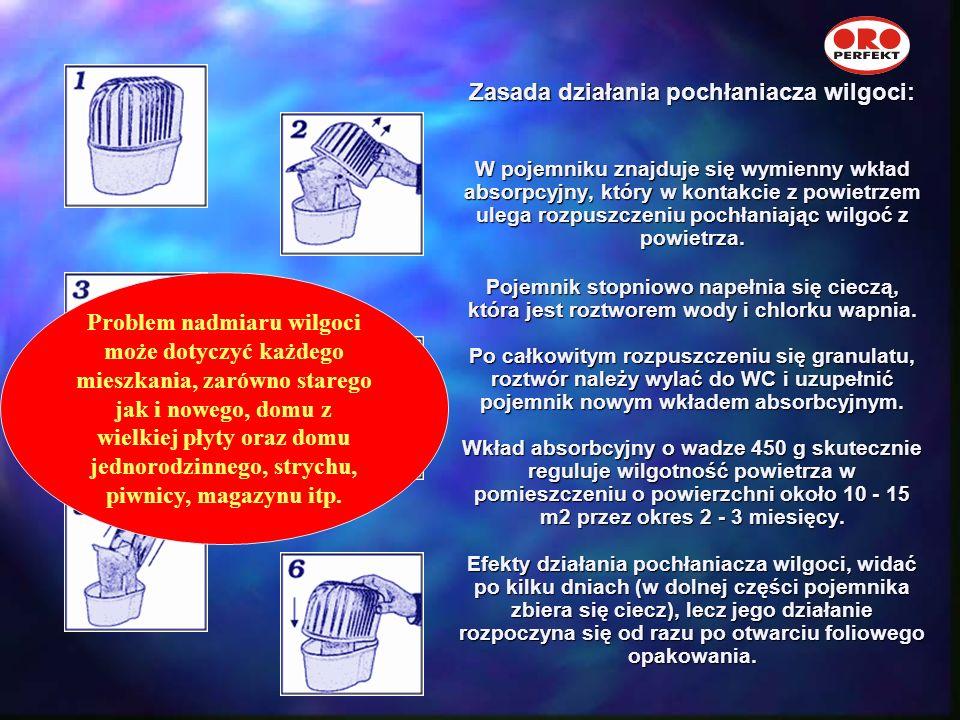 AD-202 Worek uzupełniający z granulatem 450 gram. Wystarcza na 2,3 miesiące w pomieszczeniu 10-15 m2 AD-204 Kartonik z workami uzupełniającymi z granu